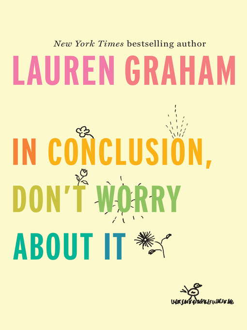 Cover of In Conclusion, Don't Worry About It