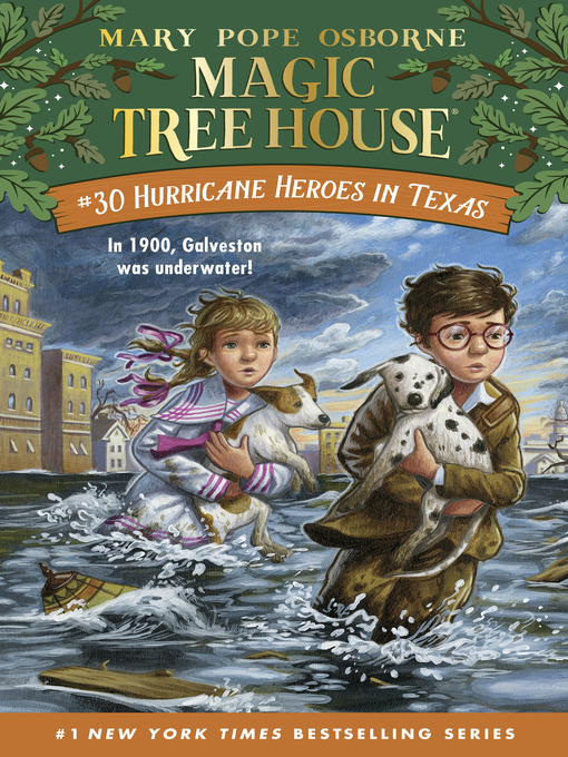 Title details for Hurricane Heroes in Texas by Mary Pope Osborne - Wait list
