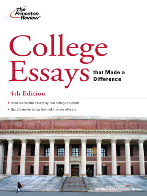 princeton review college essays book Writing your college essay the twinston review asks college expert rob franek what they should write about and more importantly, what.