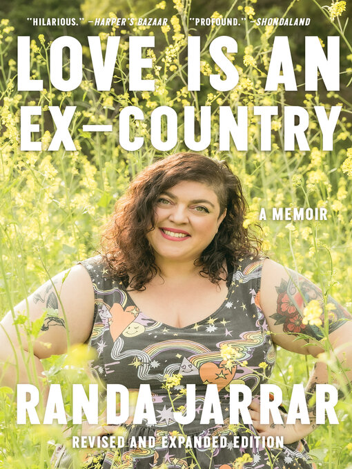 Title details for Love Is an Ex-Country by Randa Jarrar - Available