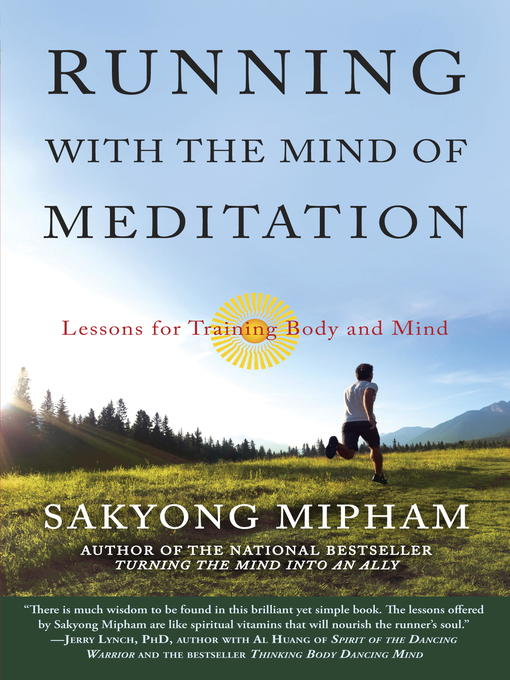 Title details for Running with the Mind of Meditation by Sakyong Mipham - Wait list