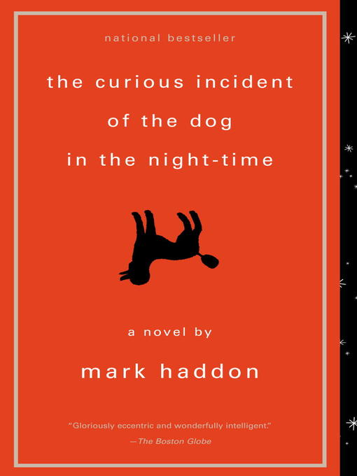 Cover image for book: The Curious Incident of the Dog in the Night-Time