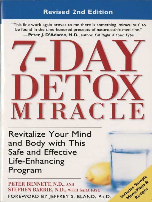 7-Day Detox Miracle - National Library Board Singapore - OverDrive