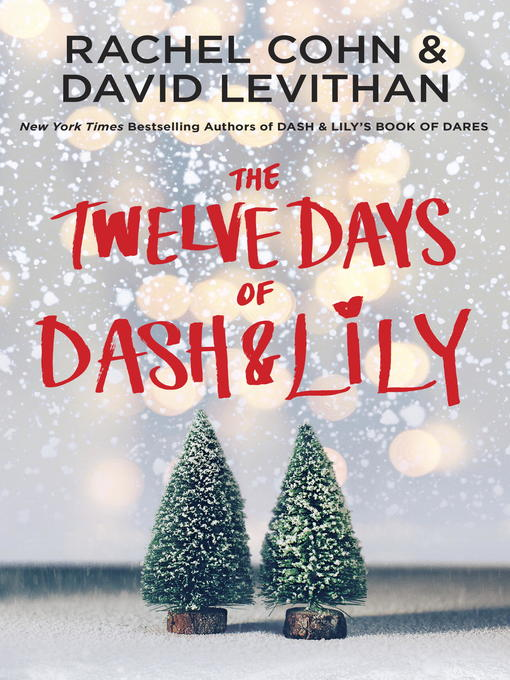 Cover of The Twelve Days of Dash & Lily