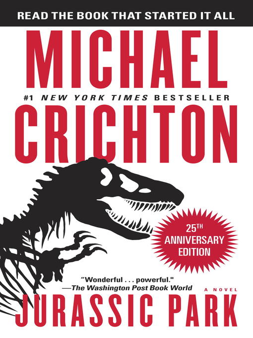 Title details for Jurassic Park by Michael Crichton - Wait list