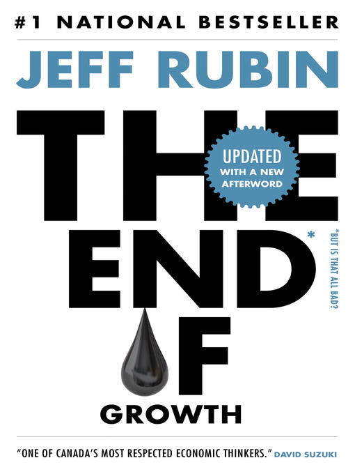 Cover of The End of Growth