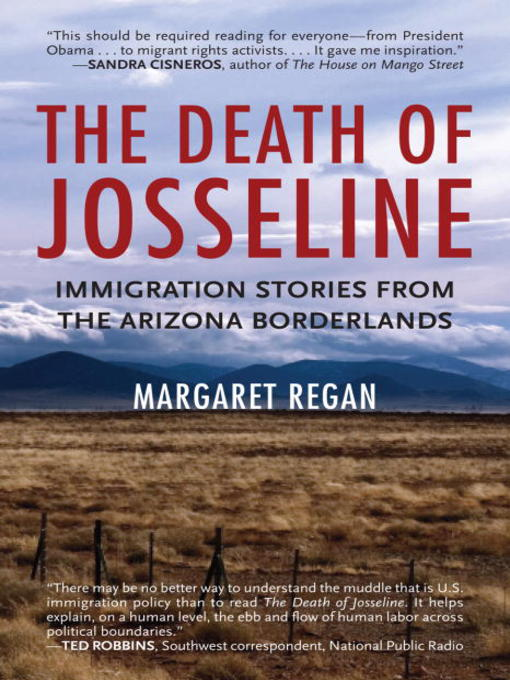 Title details for The Death of Josseline by Margaret Regan - Wait list