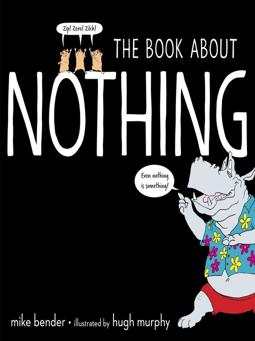 Title details for The Book About Nothing by Mike Bender - Wait list