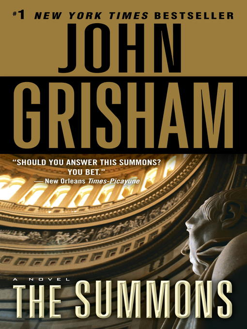 Title details for The Summons by John Grisham - Wait list