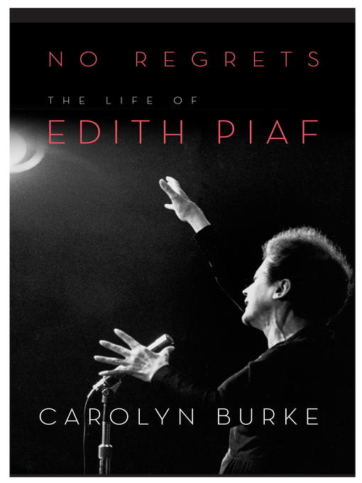 Title details for No Regrets by Carolyn Burke - Wait list