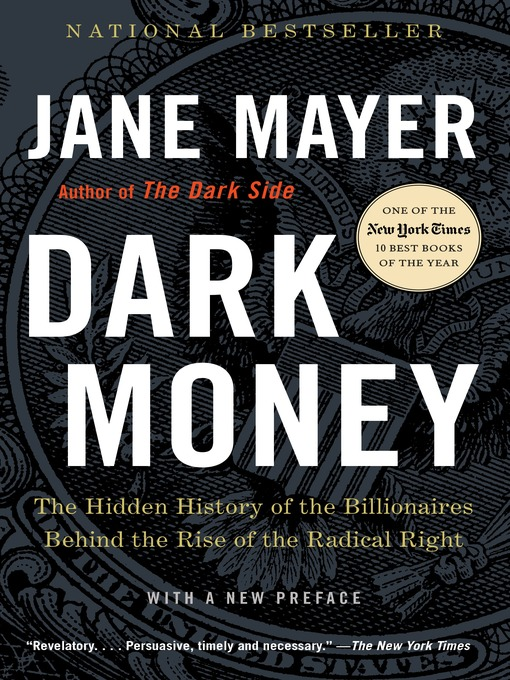Cover of Dark Money