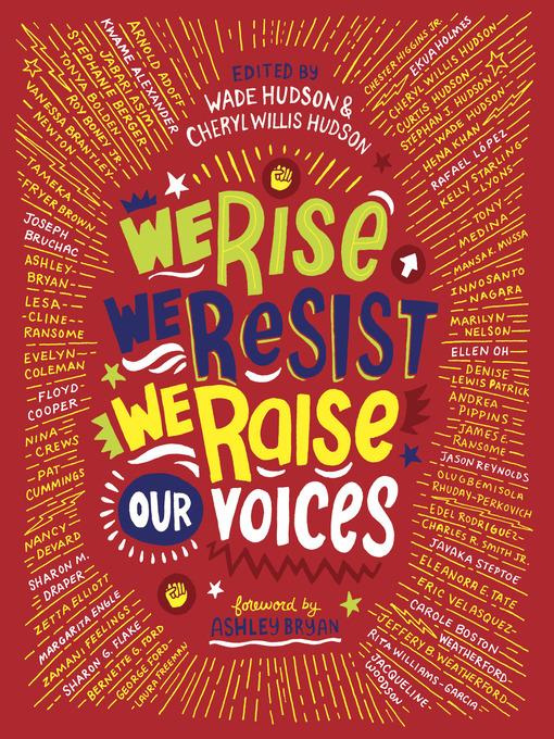 Title details for We Rise, We Resist, We Raise Our Voices by Wade Hudson - Wait list