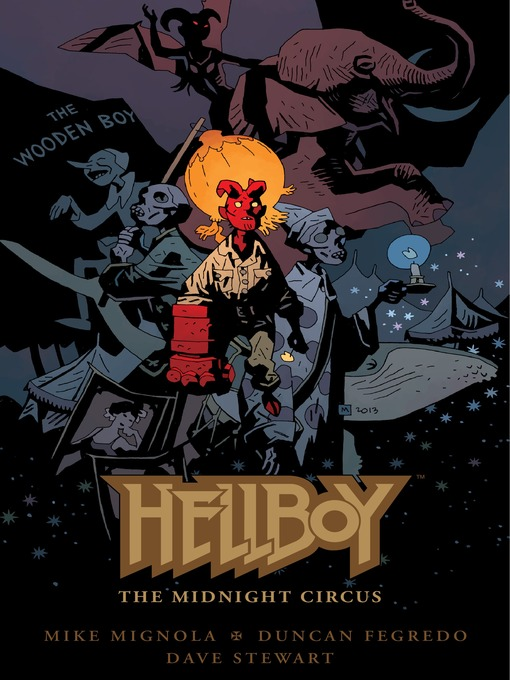Title details for Hellboy: The Midnight Circus by Mike Mignola - Wait list