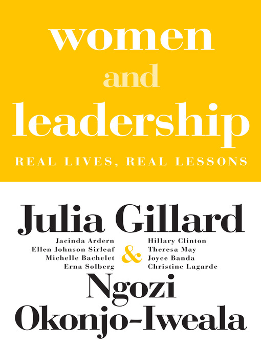 Title details for Women and Leadership by Julia Gillard - Available