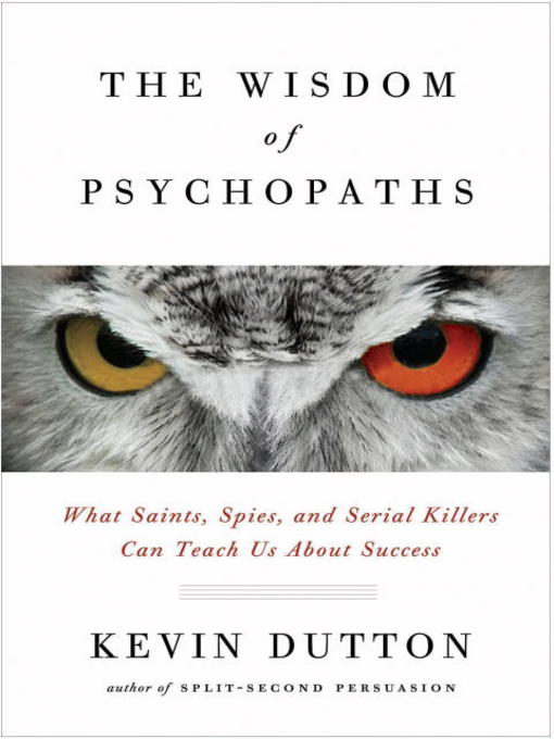 Cover of The Wisdom of Psychopaths