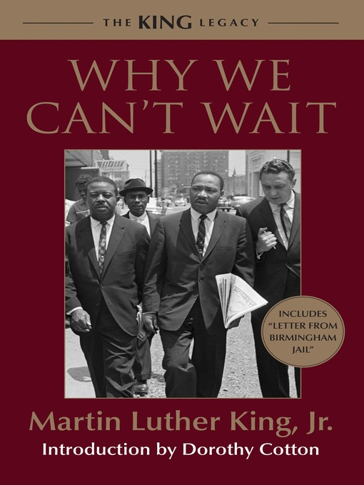 Title details for Why We Can't Wait by Dr. Martin Luther King, Jr. - Wait list