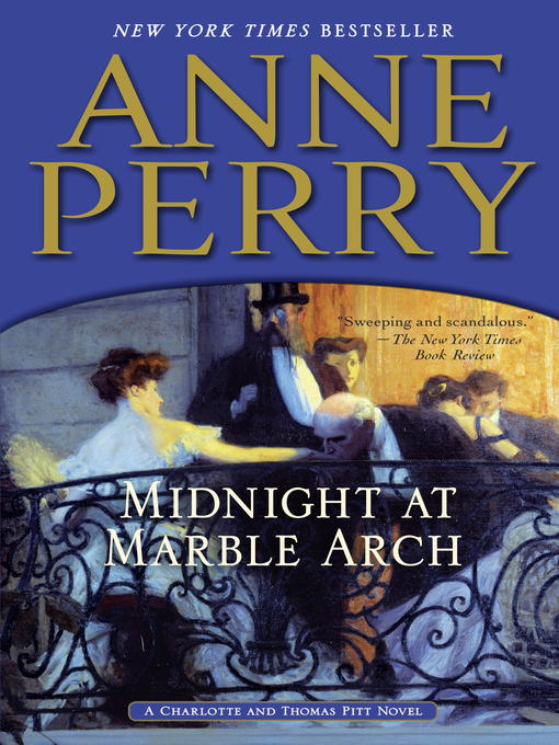 Title details for Midnight at Marble Arch by Anne Perry - Wait list