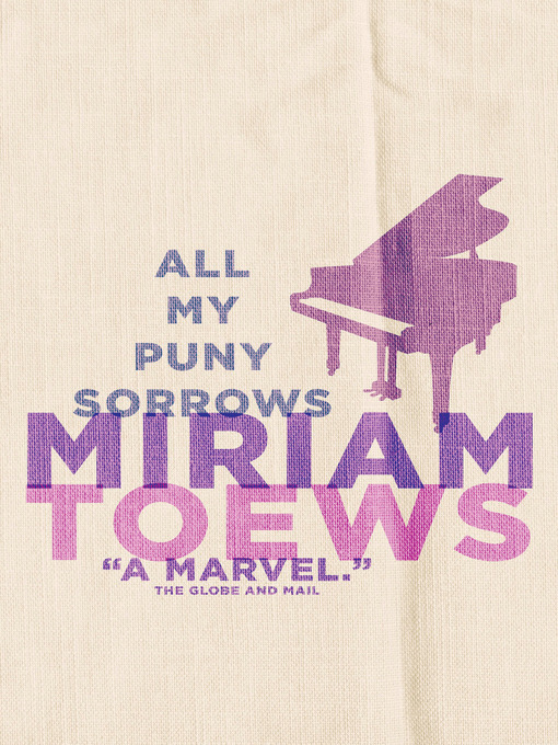 Title details for All My Puny Sorrows by Miriam Toews - Available