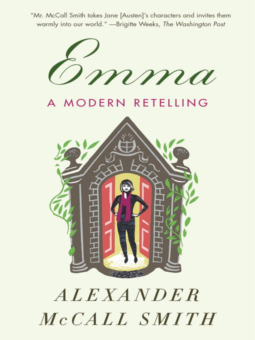Title details for Emma by Alexander McCall Smith - Wait list