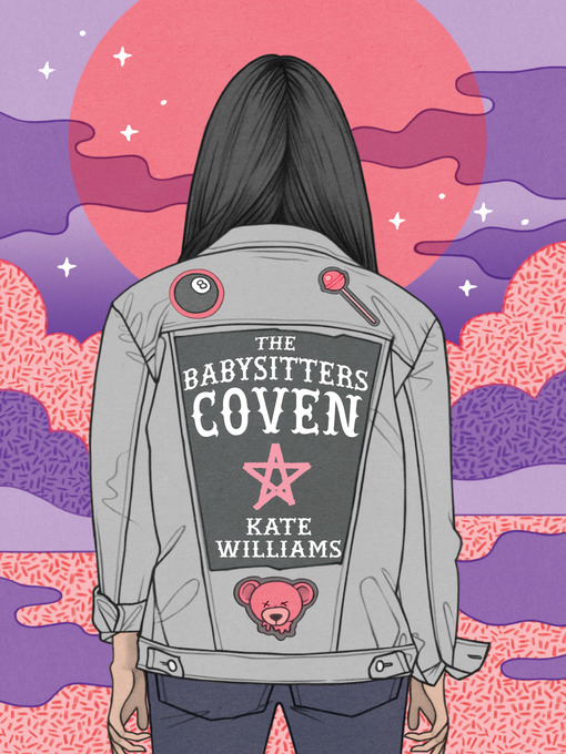 book cover: The Babysitters Coven
