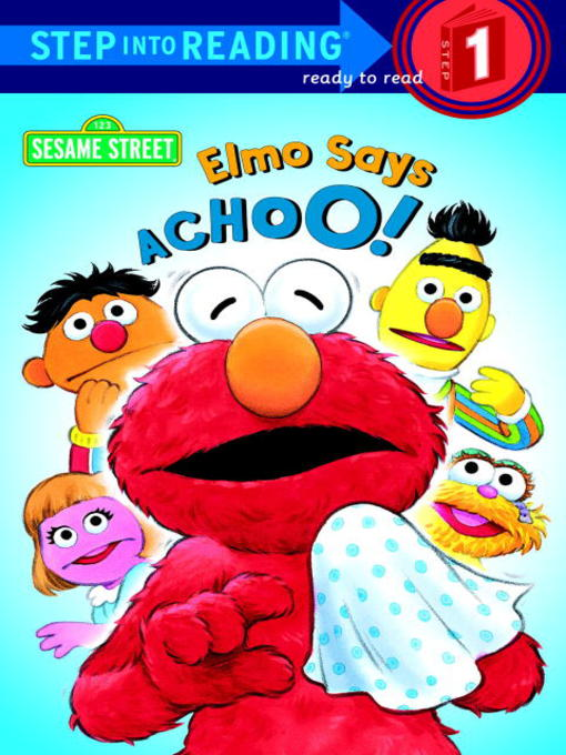 Elmo Says Achoo! の表紙