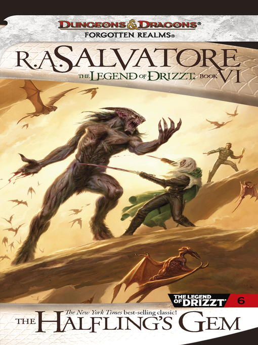 Title details for The Halfling's Gem by R.A. Salvatore - Available