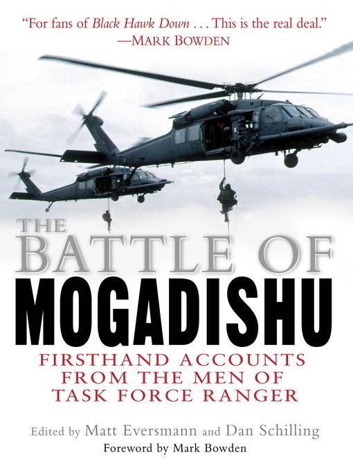 Title details for The Battle of Mogadishu by Matt Eversmann - Available