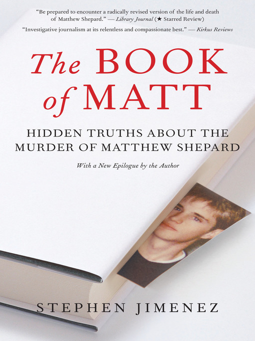 Title details for The Book of Matt by Stephen Jimenez - Available