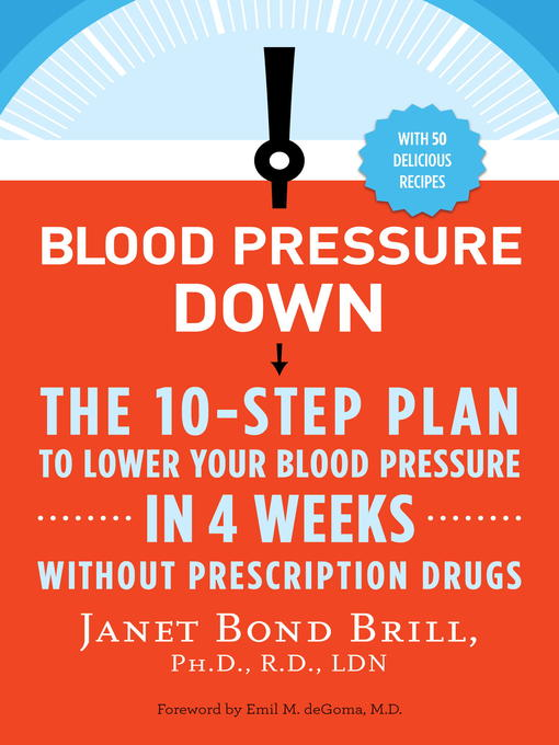 Title details for Blood Pressure Down by Janet Bond Brill, PhD, RD, LDN - Wait list