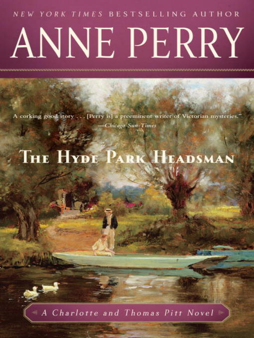 Title details for The Hyde Park Headsman by Anne Perry - Available