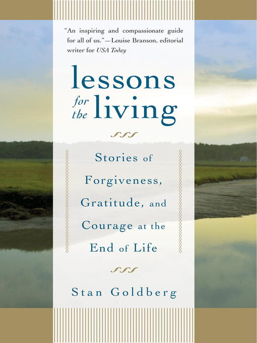 Title details for Lessons for the Living by Stan Goldberg - Available