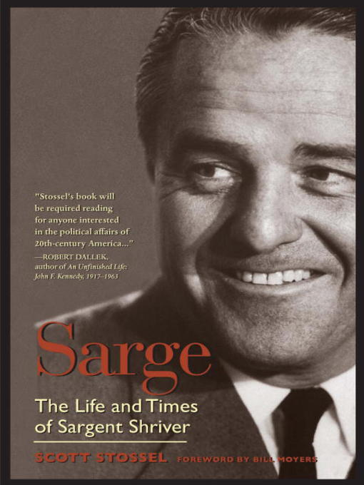 Title details for Sarge by Scott Stossel - Available