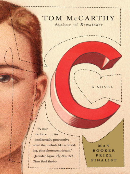 Title details for C by Tom McCarthy - Available