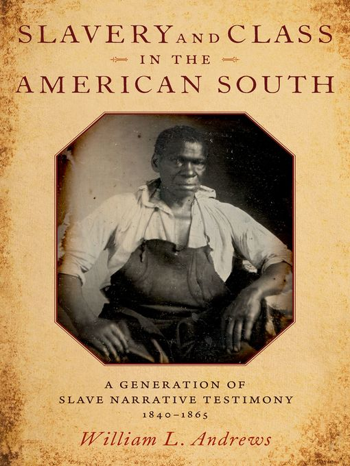 Slavery and Class in the American South