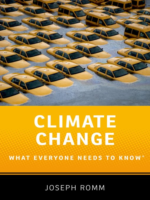Title details for Climate Change by Joseph Romm - Available