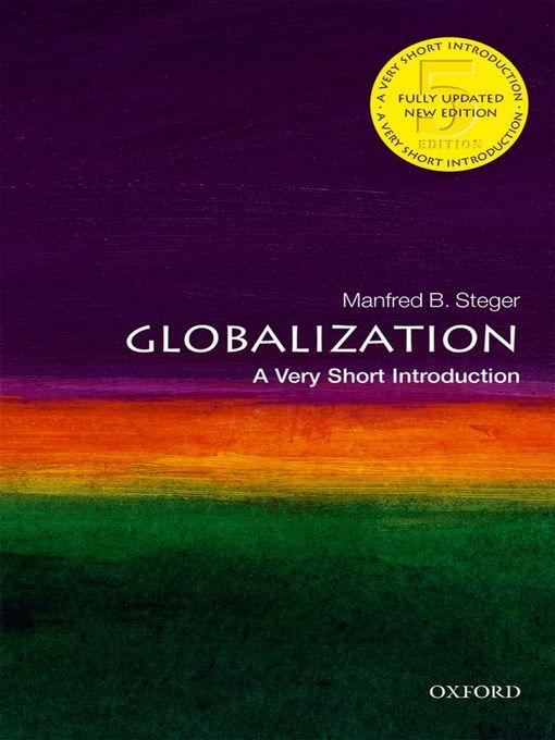 Title details for Globalization by Manfred B. Steger - Wait list
