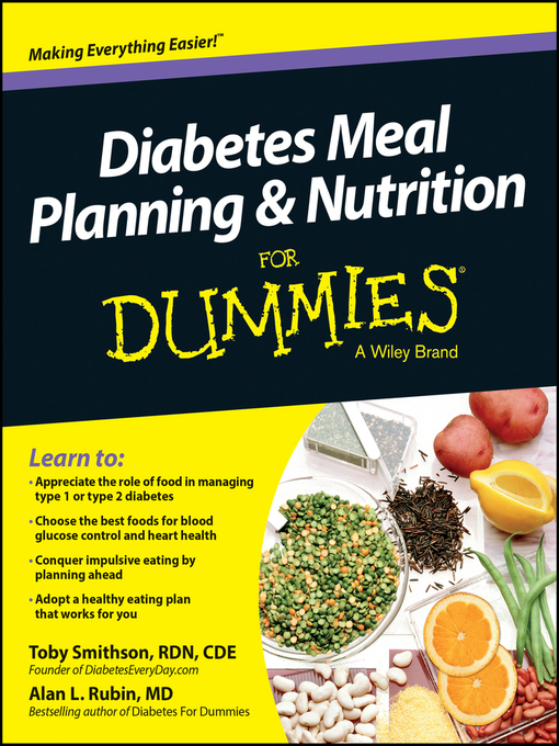 Title details for Diabetes Meal Planning and Nutrition For Dummies by Toby Smithson - Available