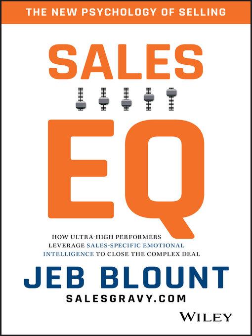 Title details for Sales EQ by Jeb Blount - Wait list