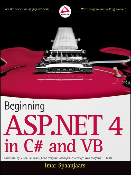 Asp ebook mvc beginning net 4