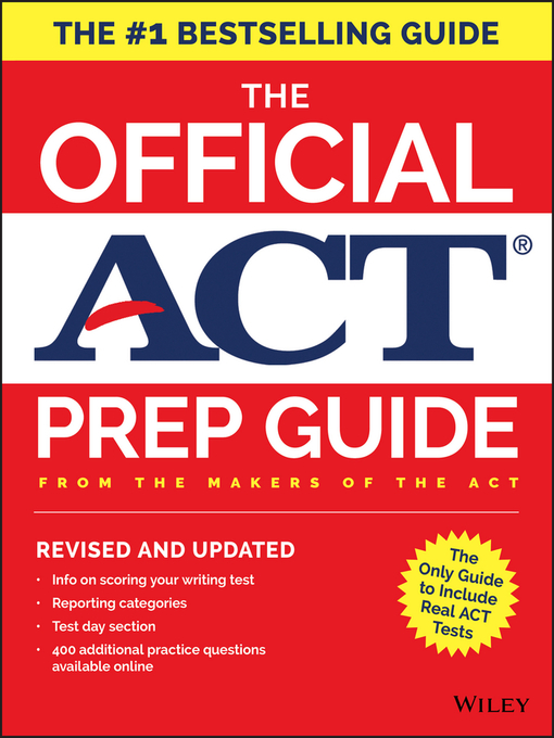 Title details for The Official ACT Prep Guide, 2018 by ACT - Available
