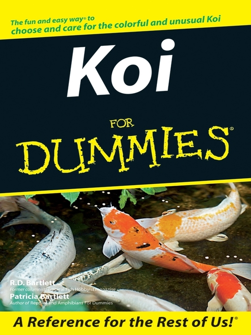 Title details for Koi For Dummies by R. D. Bartlett - Available