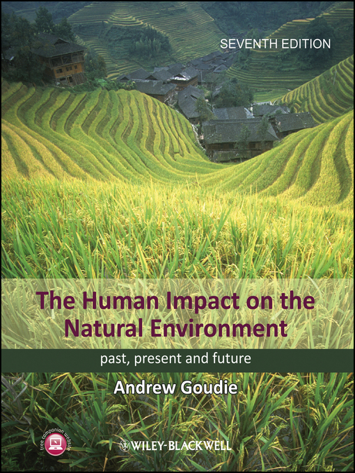 Cover: The Human Impact on the Natural Environment