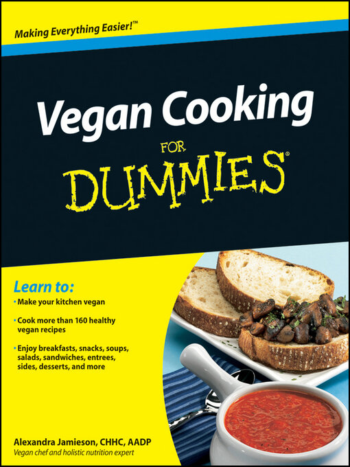 Cover image for Vegan Cooking For Dummies