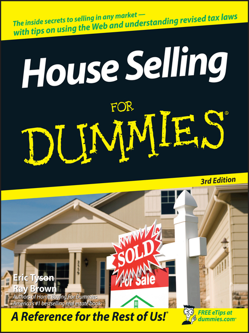 Title details for House Selling For Dummies by Eric Tyson - Available