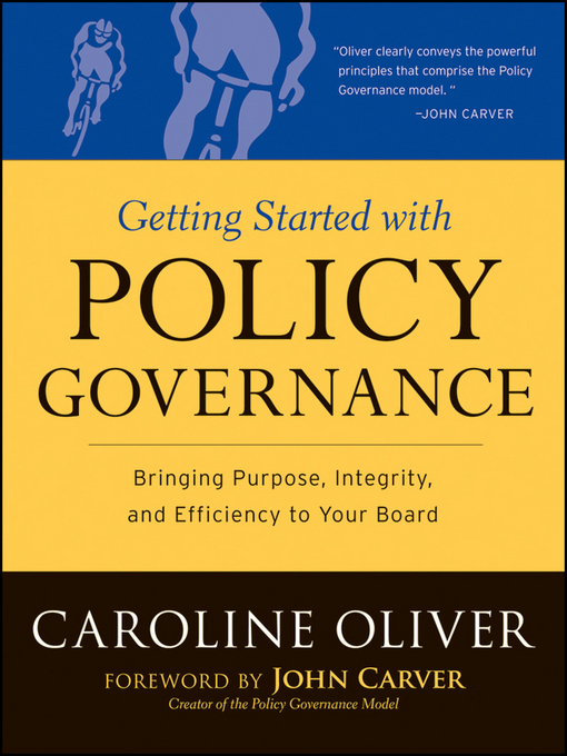 Title details for Getting Started with Policy Governance by Caroline Oliver - Available