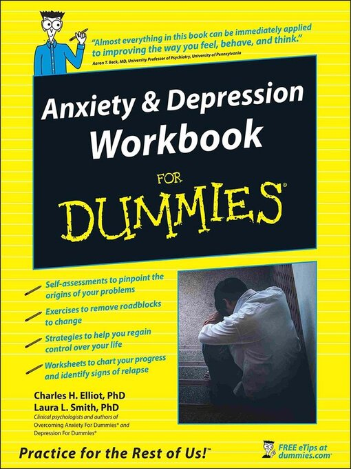 Title details for Anxiety & Depression Workbook For Dummies by Charles H. Elliott - Available