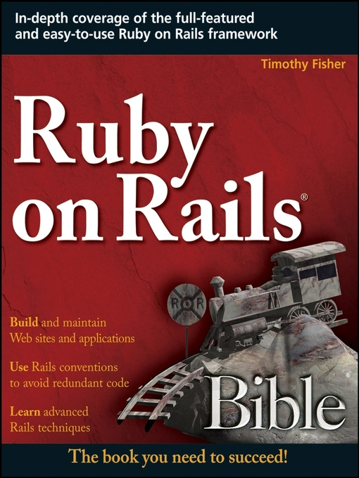 Title details for Ruby on Rails® Bible by Timothy Fisher - Available