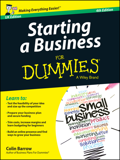 Title details for Starting a Business For Dummies by Colin Barrow - Available
