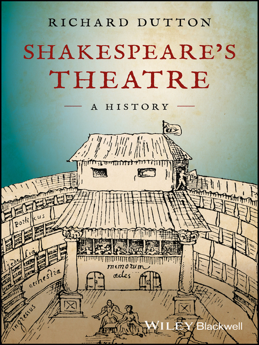 Title details for Shakespeare's Theatre by Richard Dutton - Available