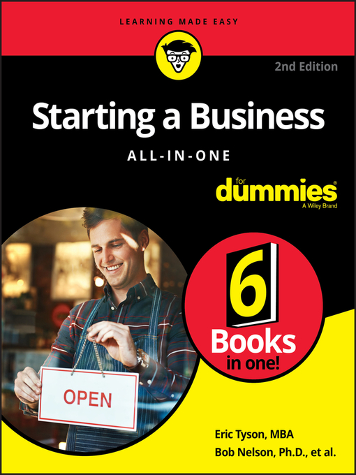 Title details for Starting a Business All-in-One For Dummies by Bob Nelson - Wait list